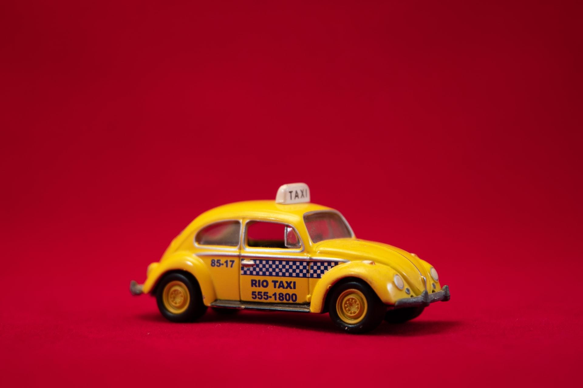 Taxi-bil